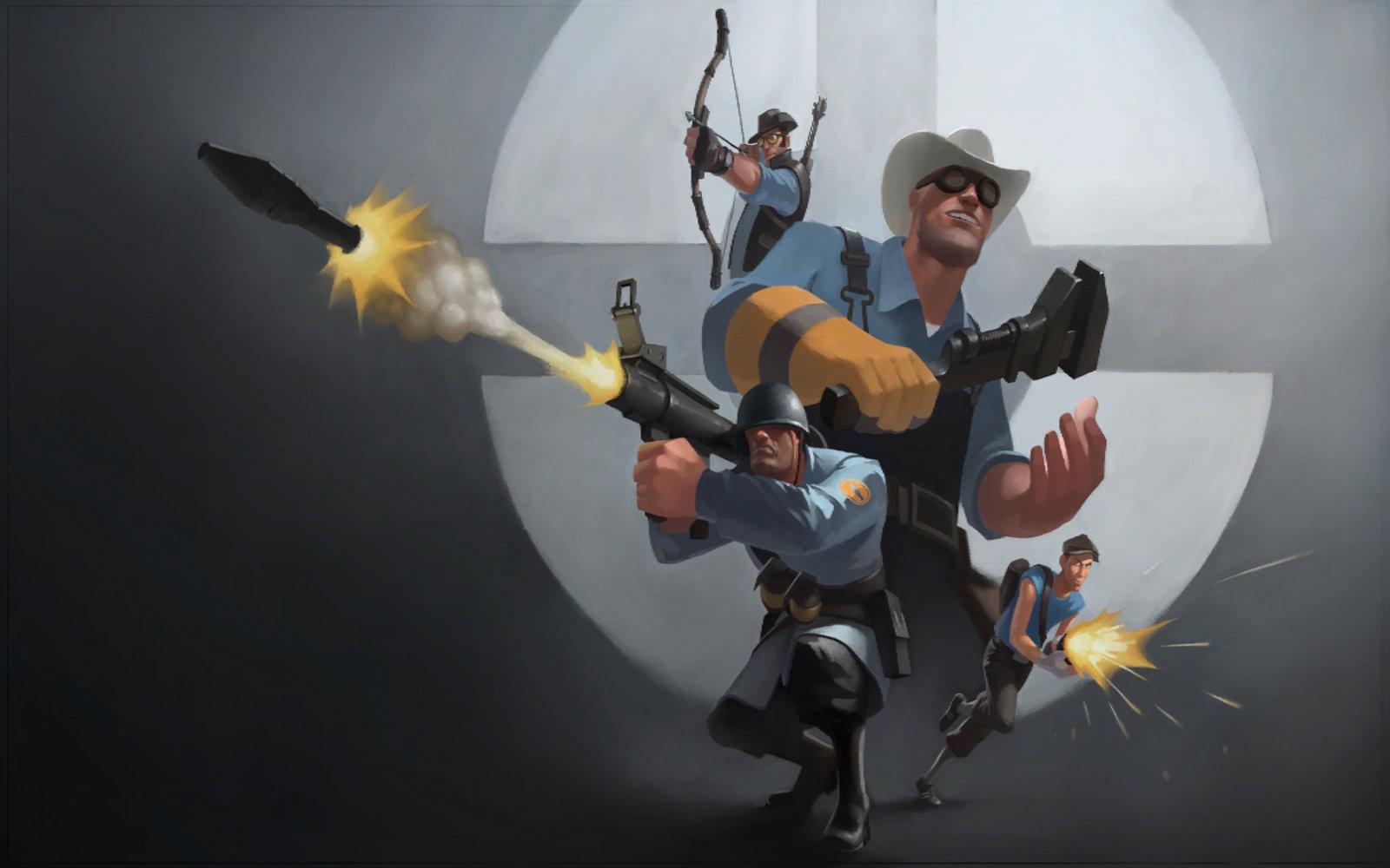 tf2 blu wallpaper by matt2010 fan art wallpaper games 2009 2015 1600x1000