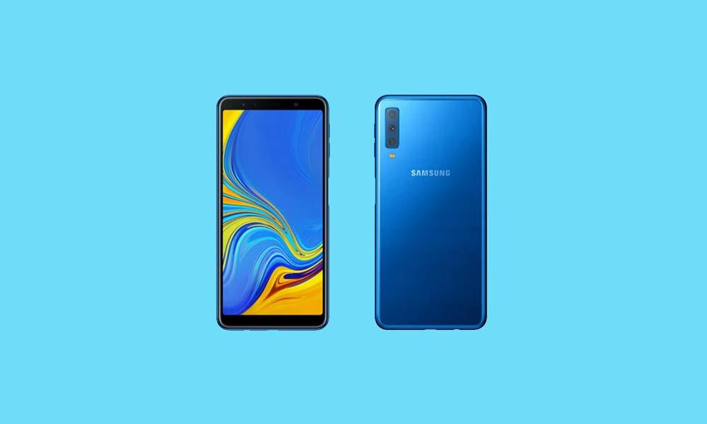 Download A750GUBU1ARK2 November 2018 Security on Galaxy A7 2018 1000x600
