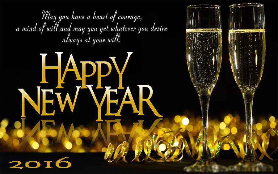 3D Happy New Year 2016 Wallpapers HD Download for iPhone 900x563