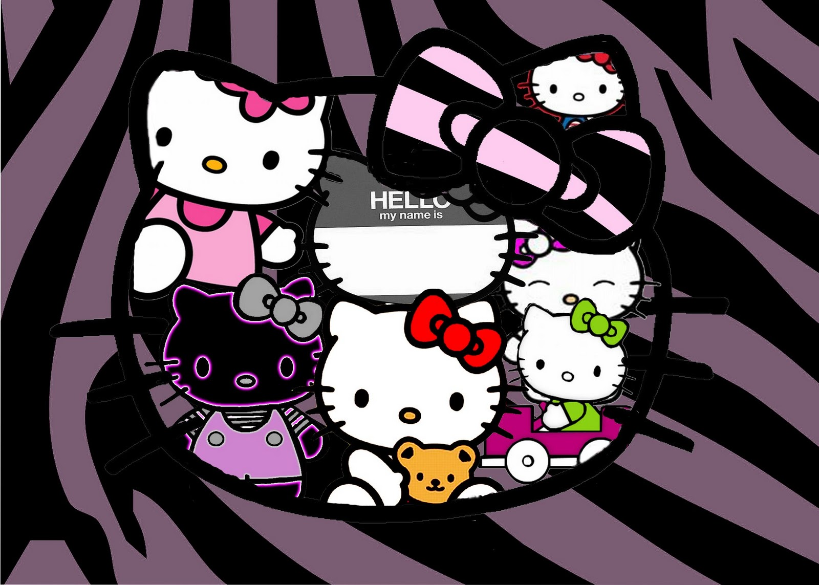 Car Wallpaper Desktop >> 3D Hello Kitty Wallpaper - WallpaperSafari