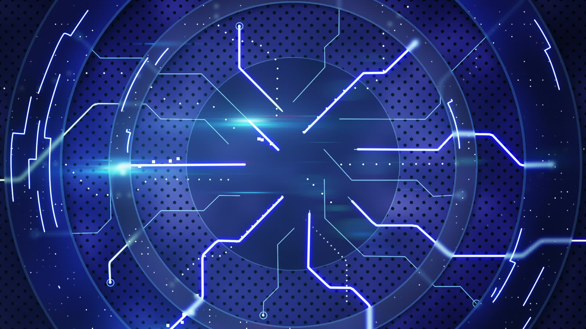 Free Download Blue Hi Tech Abstract Loopable Background