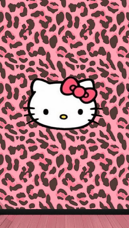 Free Download Pink Brown Leopard Wallpaper Free 423x750