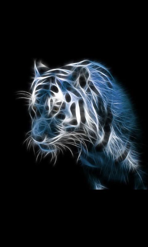 Wild Animal Live Wallpaper   screenshot 480x800
