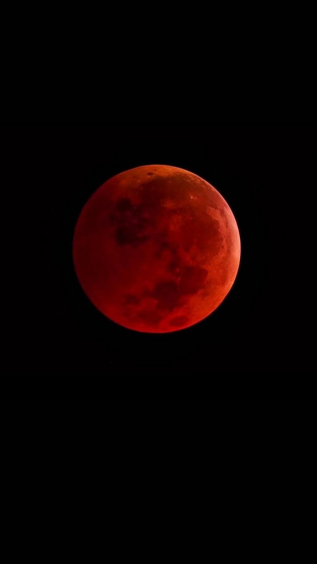 Blood Moon iPhone Wallpaper 2019 3D iPhone Wallpaper 1080x1920