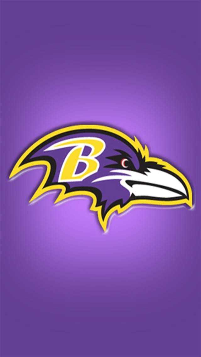 Baltimore Ravens LOGO iPhone Wallpapers iPhone 5s4s3G 640x1136