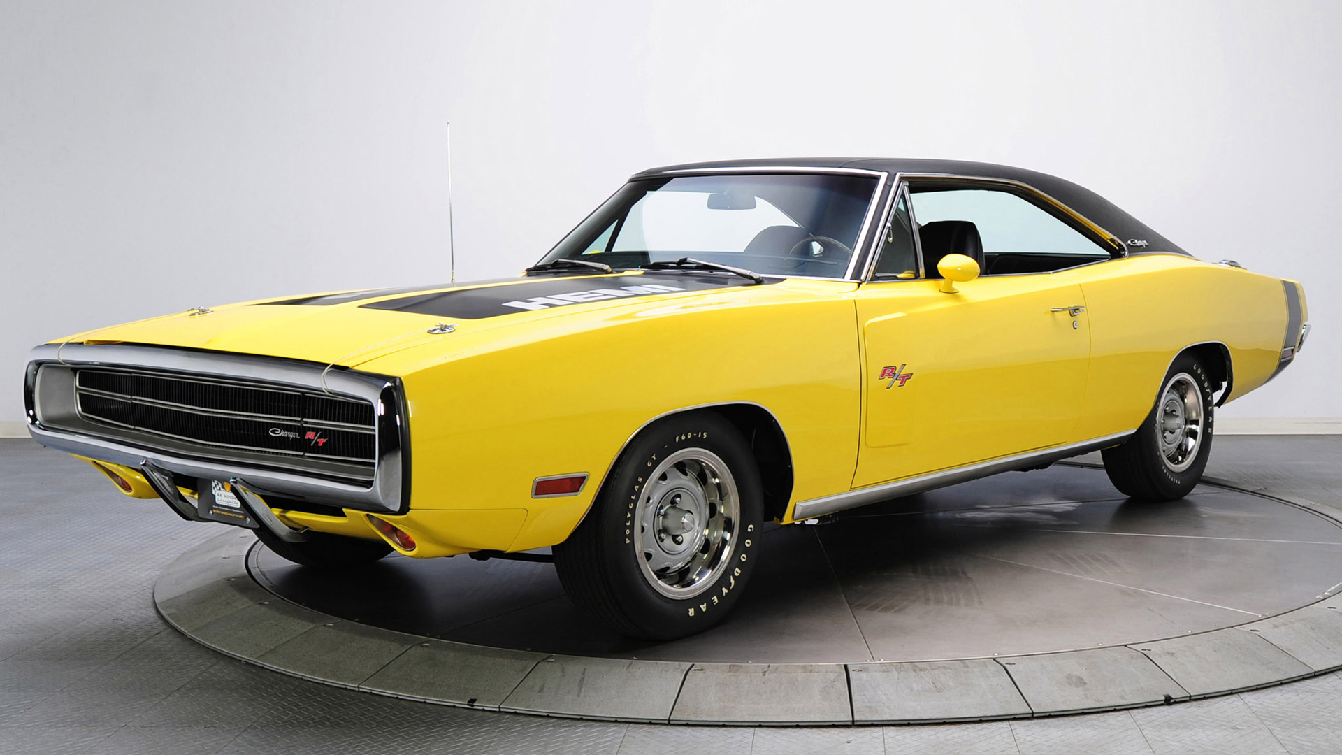 1970 Dodge Charger RT 426 Hemi Wallpapers 1920x1080