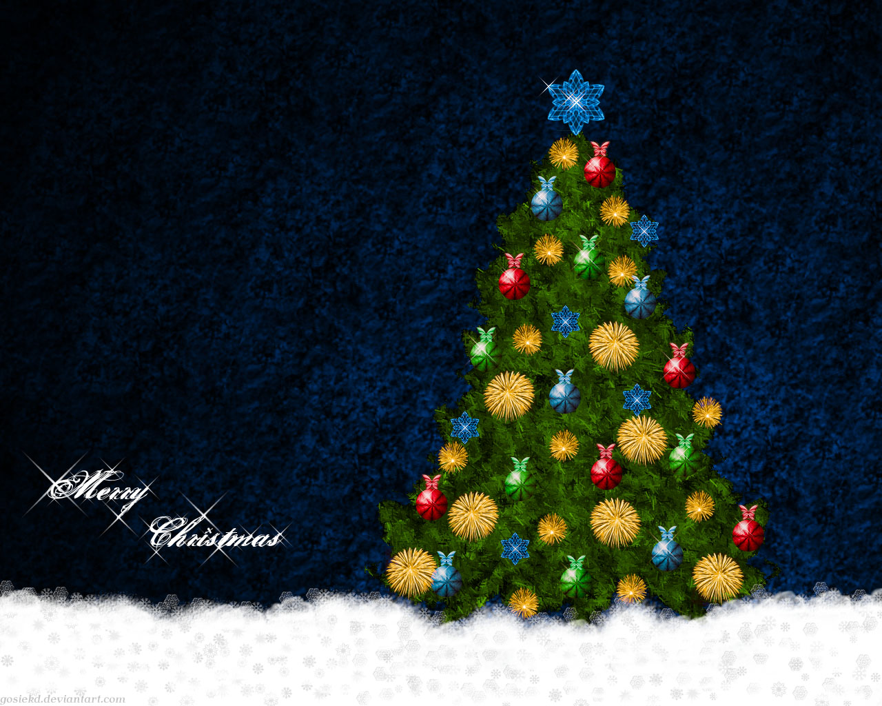 40 Christmas Wallpapers HD Quality 2012 Collection 1280x1024