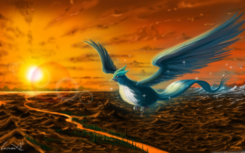 Articuno Pokemon MacBook Pro Wallpaper Download AllMacWallpaper 2880x1800
