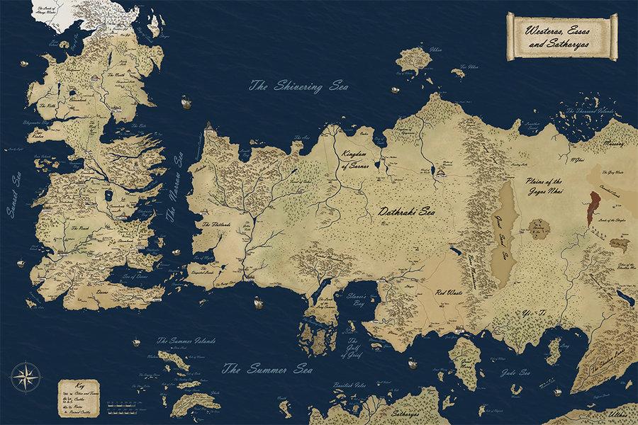Westeros Map Wallpaper - WallpaperSafari