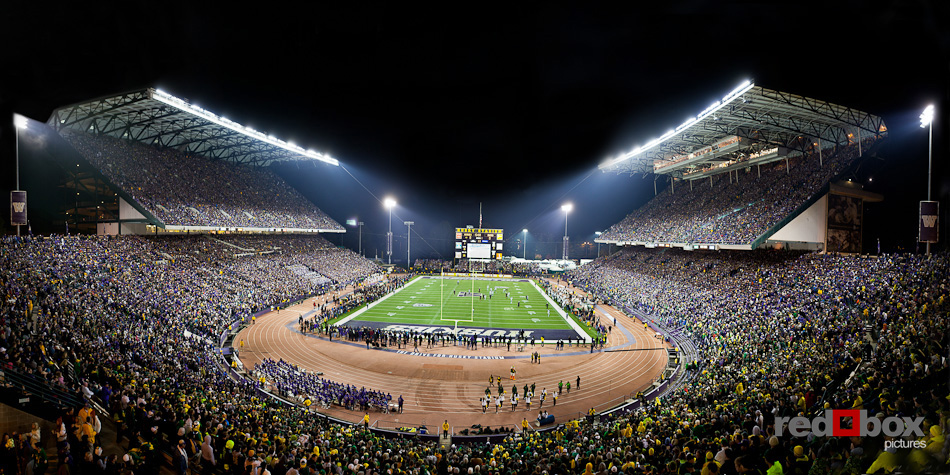 Husky Stadium Panorama Seattle Commercial Photography pictures 950x475