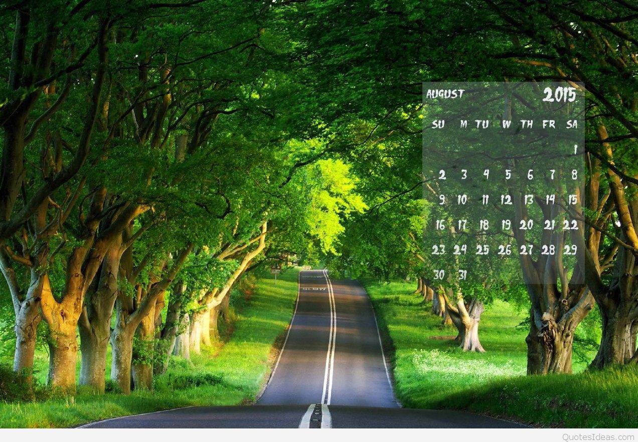 Best August 2015 wallpaper calendar 1272x881