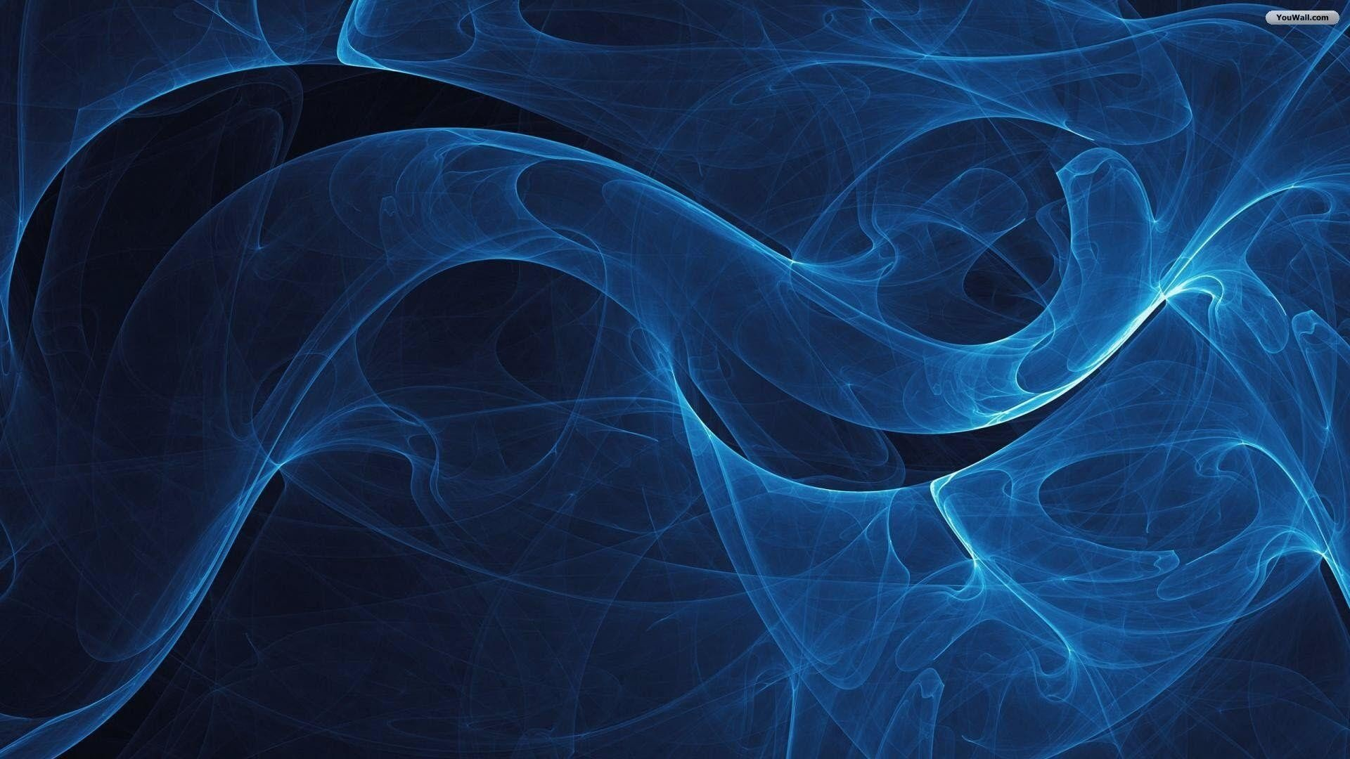 36 Blue Abstract 1080p Wallpapers On Wallpapersafari