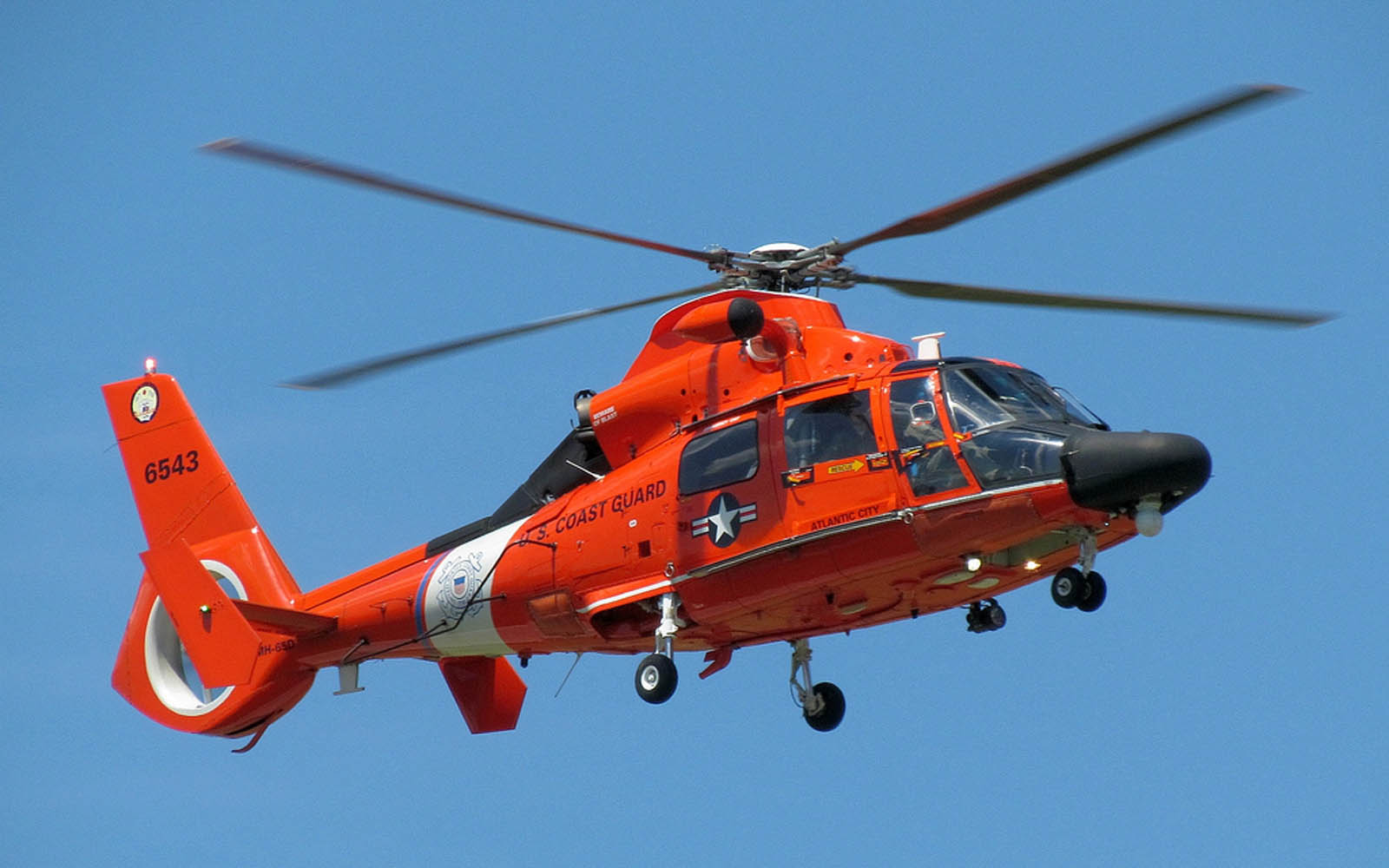 Tag HH 65 Dolphin US Coast Guard Helicopter Wallpapers Backgrounds 1600x1000
