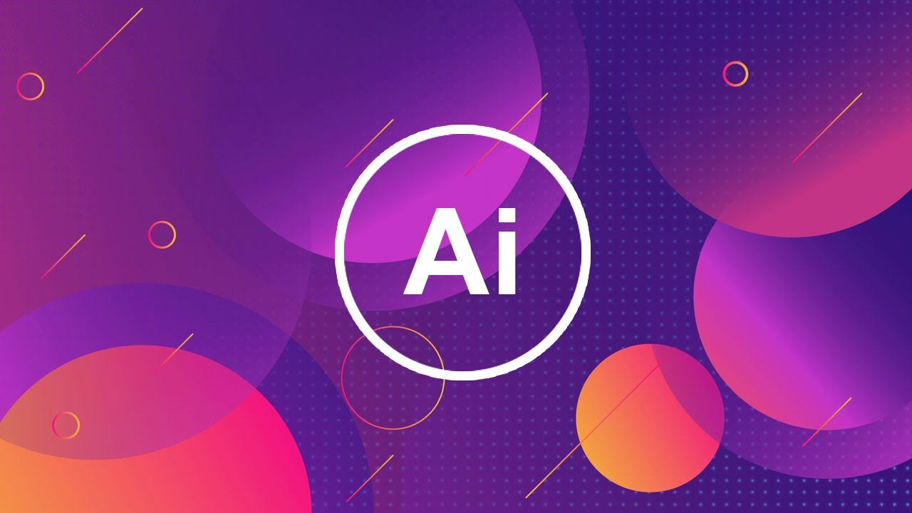 Create a Vector Wallpaper using Adobe Illustrator CC 2019 Speed 1280x720