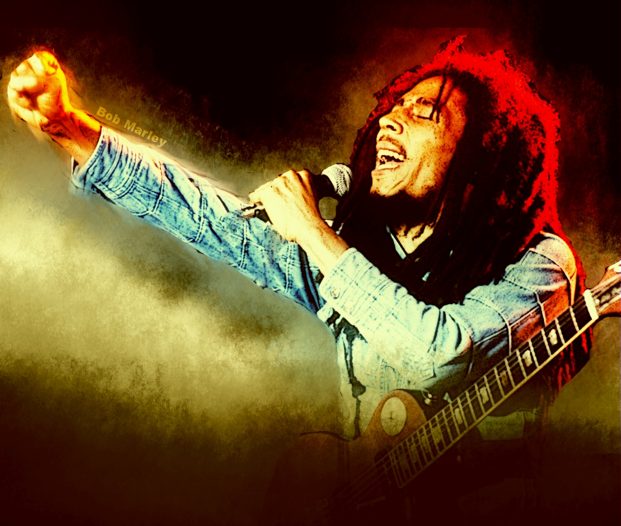 Bob Marley 3d Wallpapers
