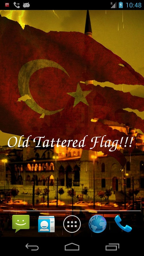 3D Turkey Flag Live Wallpaper Android rakendused teenuses Google 506x900