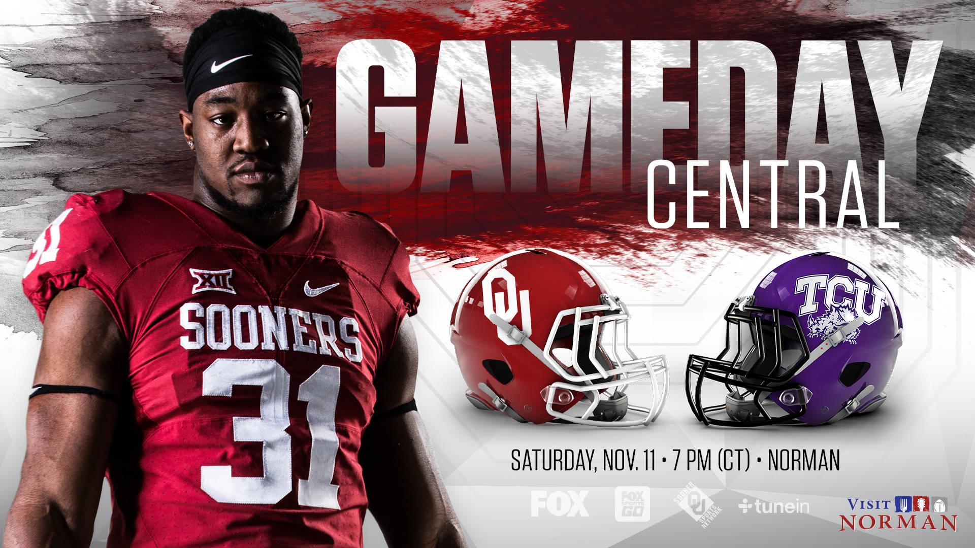 Gameday Central OU vs TCU   University of Oklahoma 1920x1080