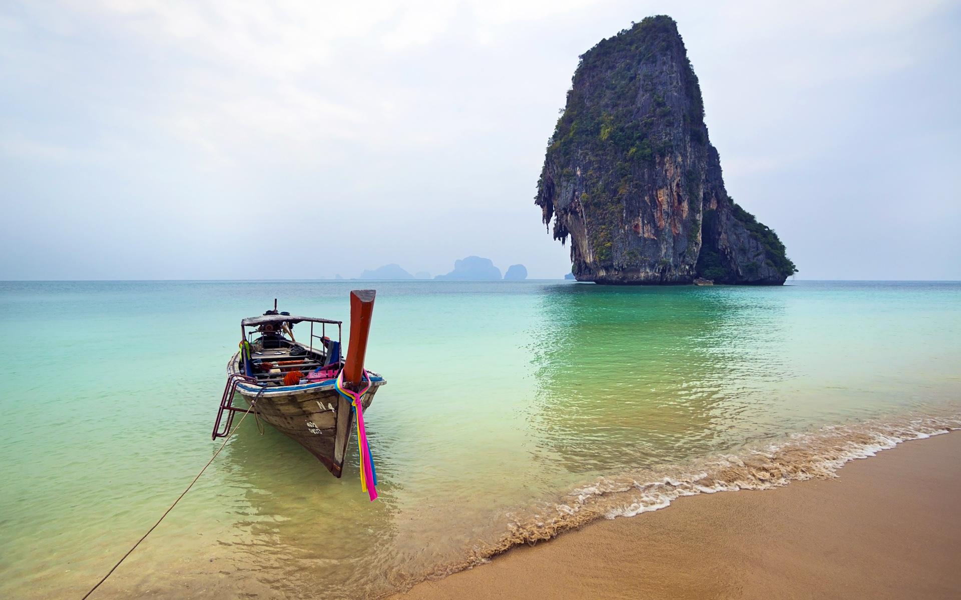 Railay Beach Thailand Desktop Wallpaper Widescreen l4w4g 1920x1200