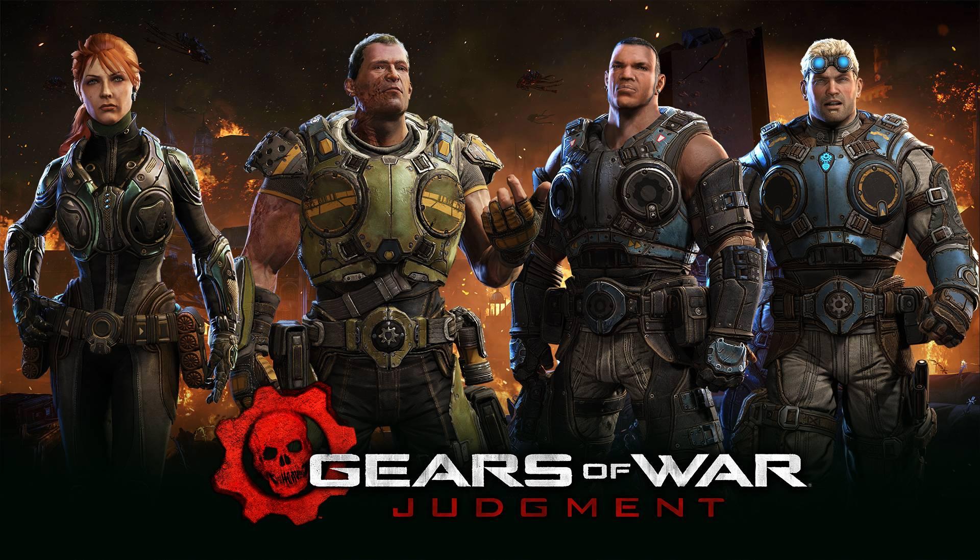 GOWJ The crew   Gears of War Judgement Wallpaper 1920x1097