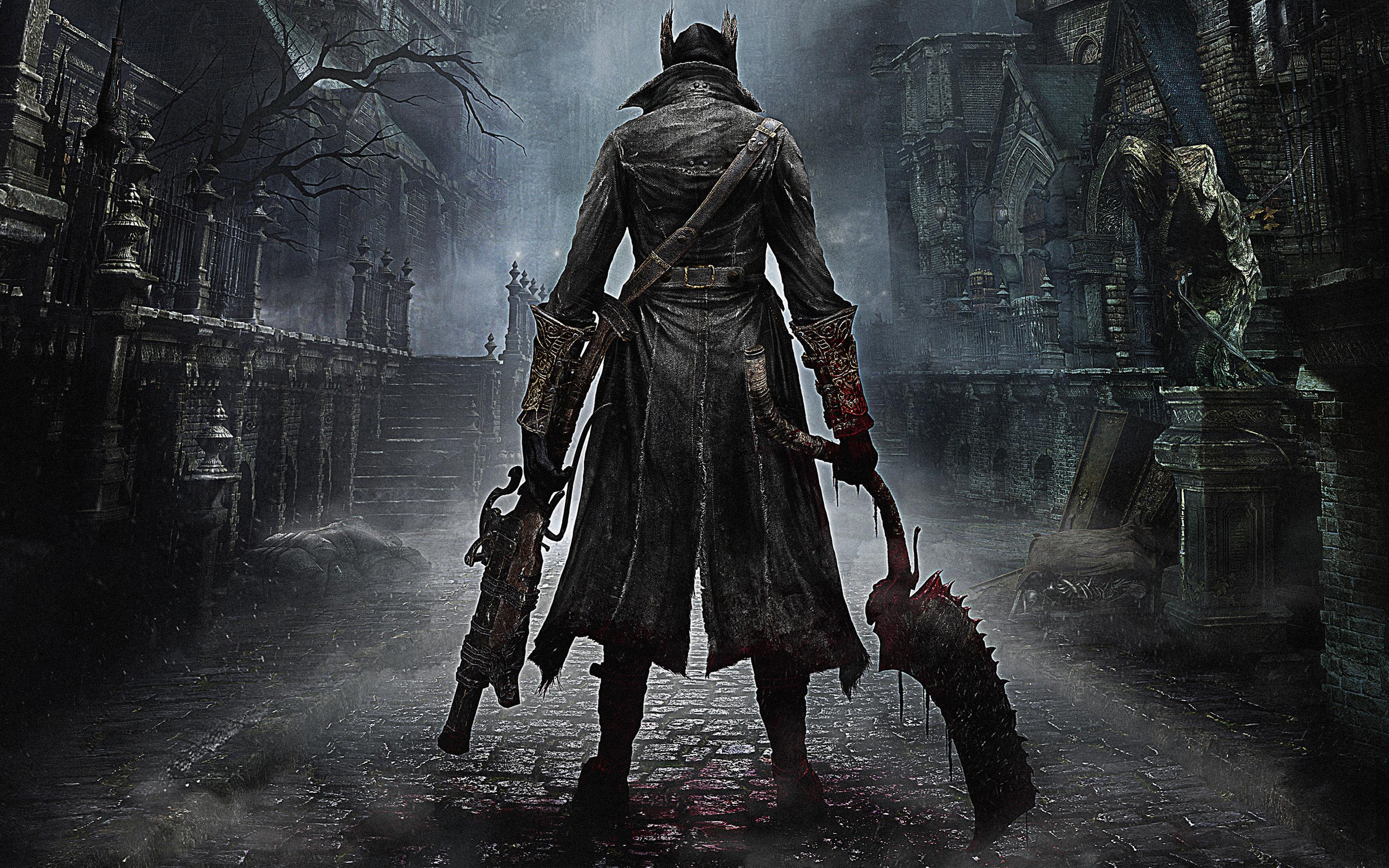 Bloodborne PS4 Game Wallpapers HD Wallpapers 2880x1800