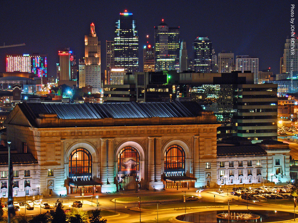 Kansas City Skyline Cool Wallpapers Best Wallpapers HD 1024x768