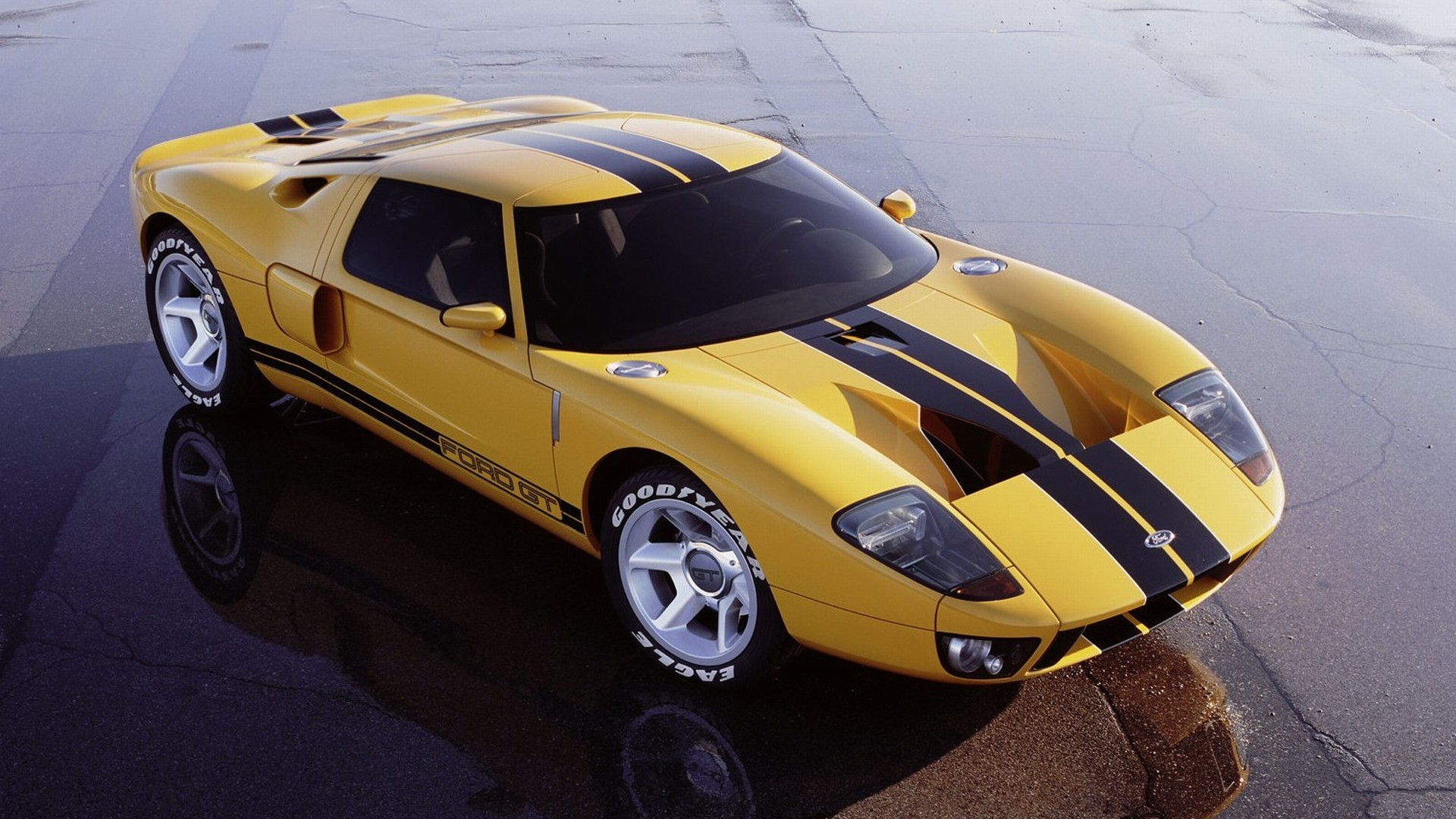 Ford GT40 Concept 2002 02 1920x1080 WallpapersFord GT 1920x1080 1920x1080