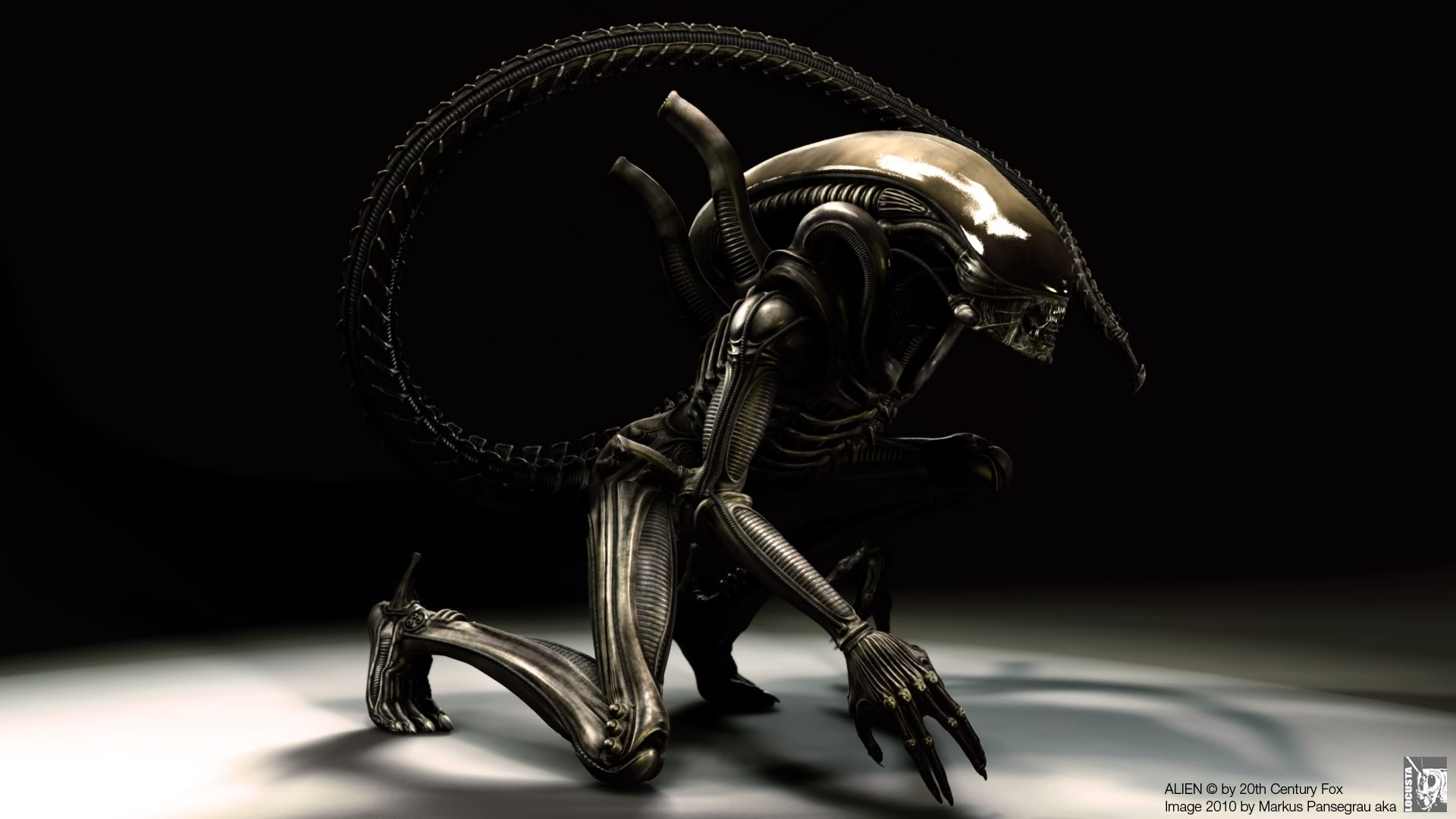 3D Alien   Wallpaper 30796 1920x1080