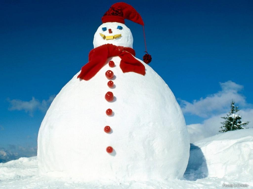 Snowman Desktop Backgrounds - WallpaperSafari