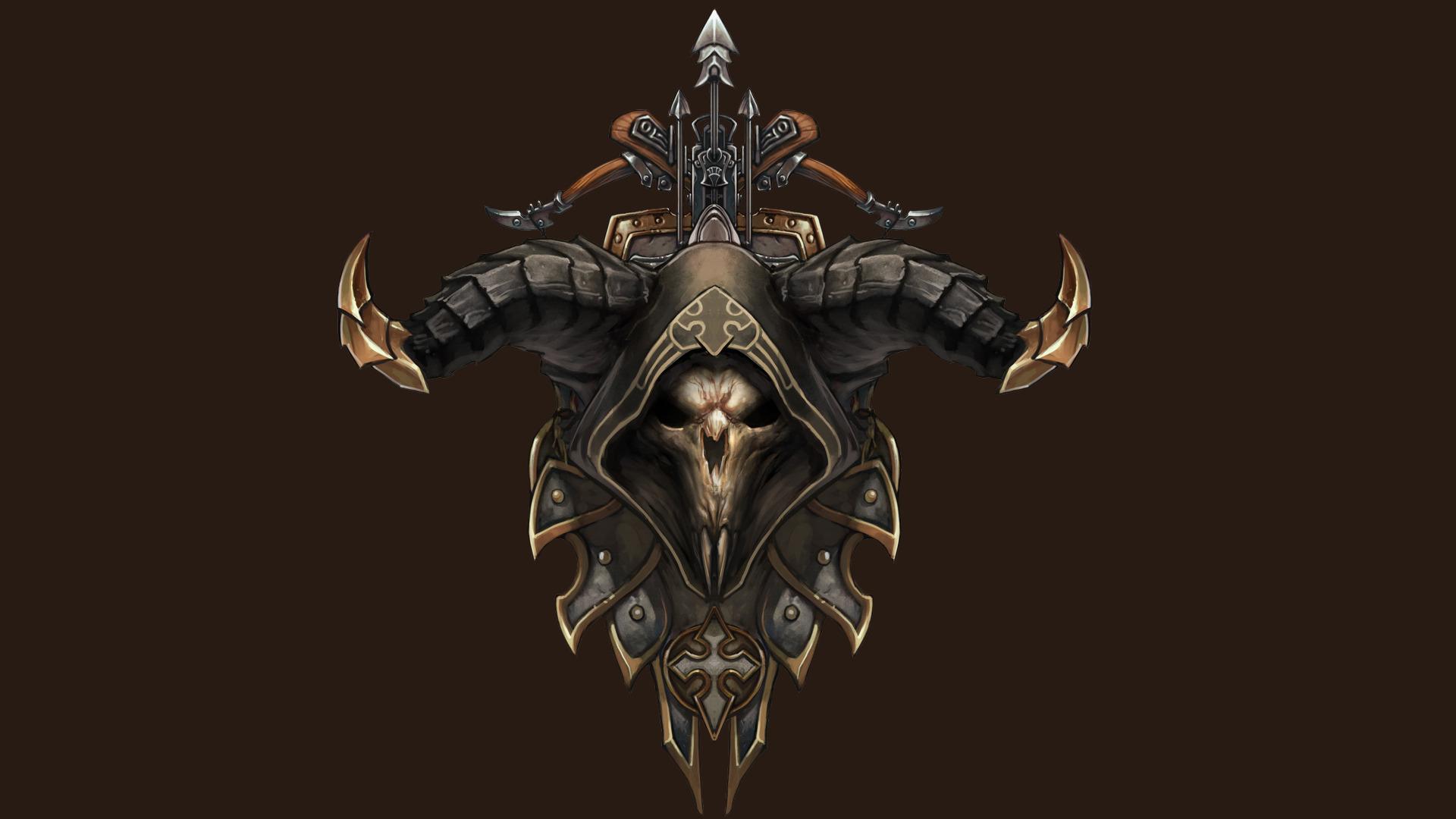 Demon Hunter Diablo III Wallpaper 1070473 1920x1080