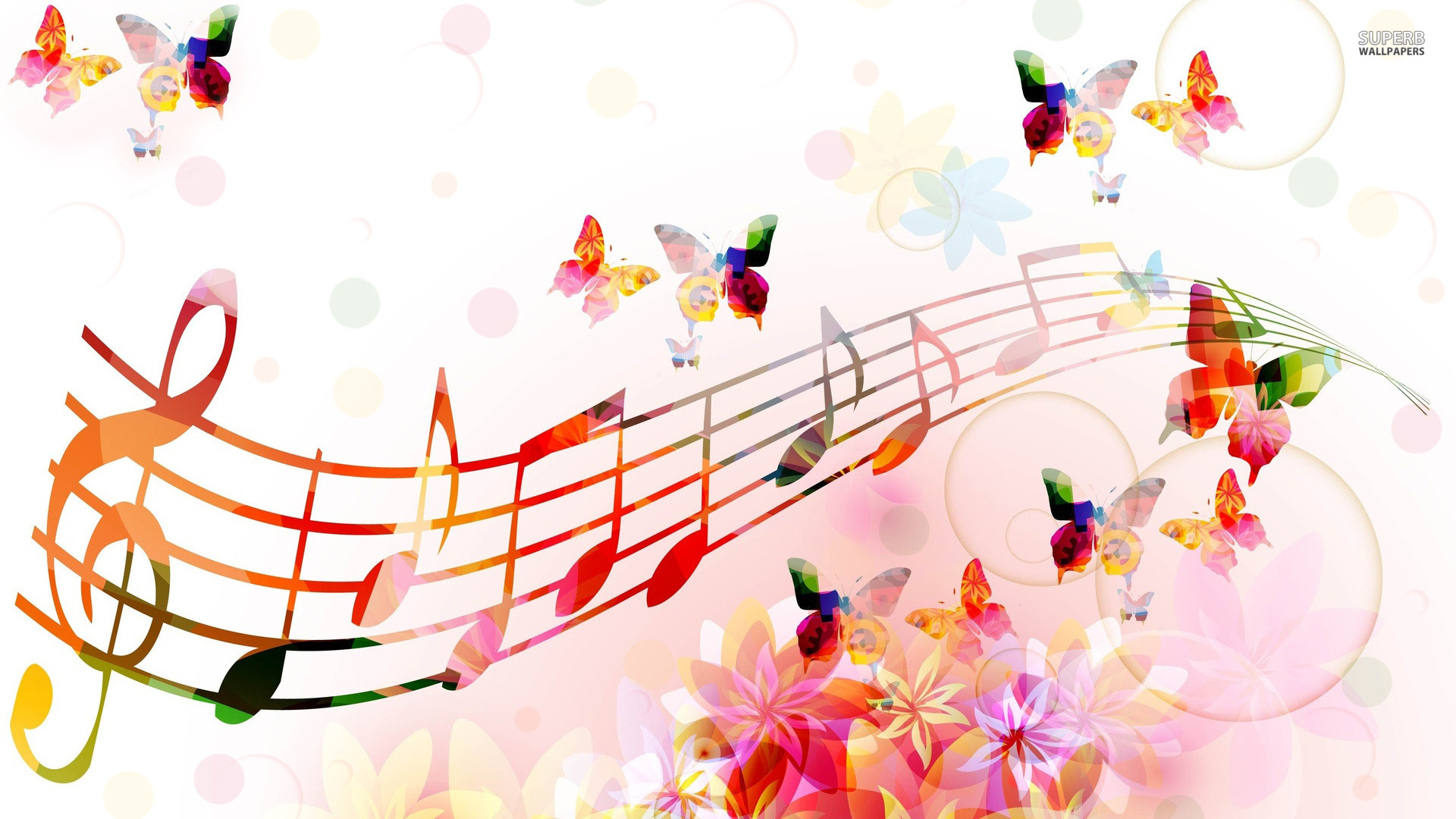 Wallpaper Music Notes Download HD Wallpapers 1920x1080