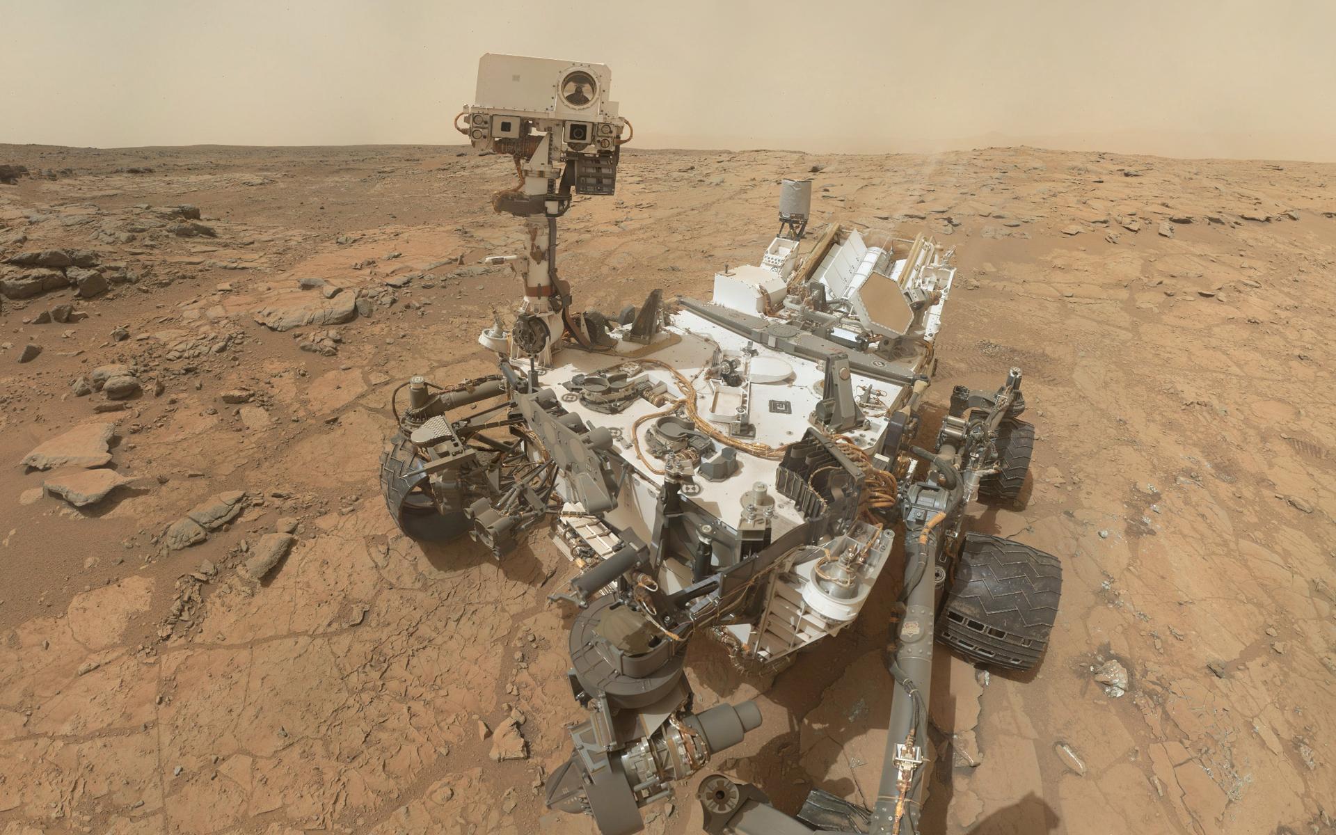 Mars Rover Wallpaper 1920x1200