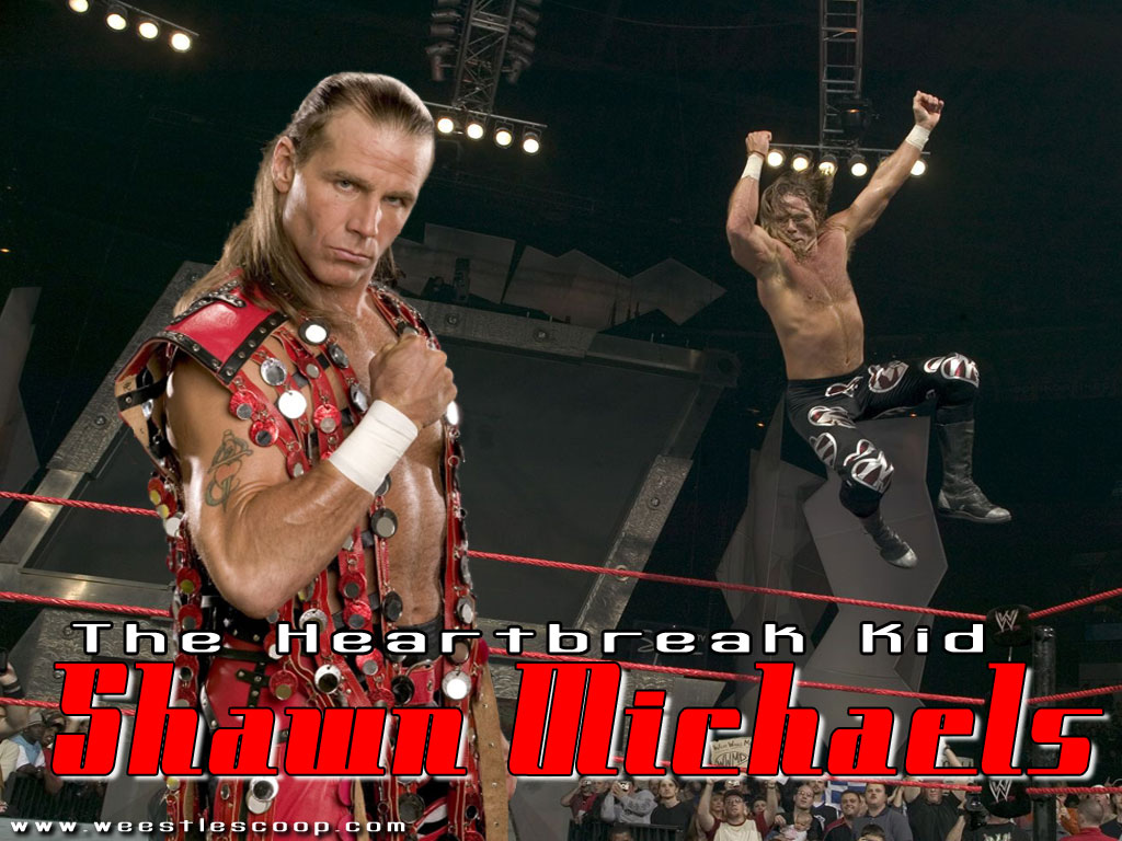 WWE Hot Wallpapers Wwe Wallpapers Hbk Shawn Michaels 1024x768