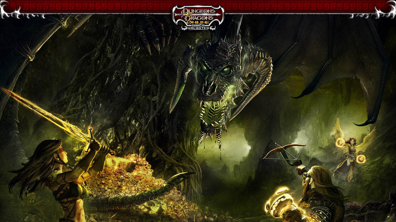 Dungeons amp Dragons Online Wallpaper in 1366x768 1366x768