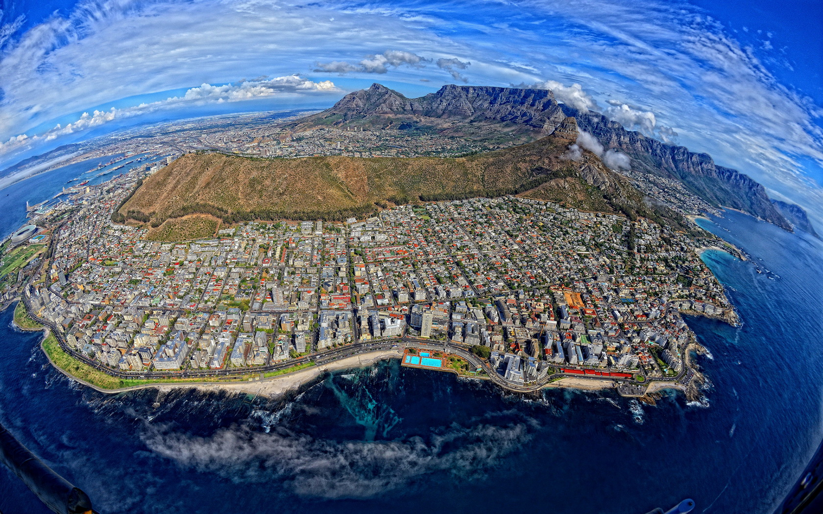 Cape Town Capital Of South Africa Computer Wallpapers Desktop 1680x1050