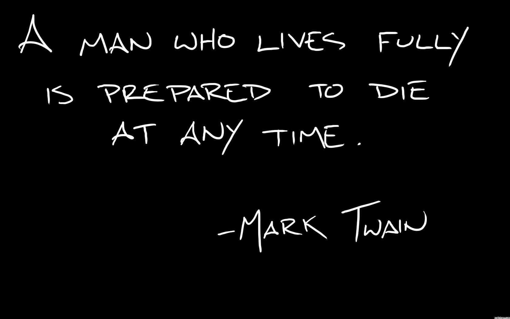 Abstract Backgrounds In High Quality Mark Twain Quotes by Alan 1680x1050