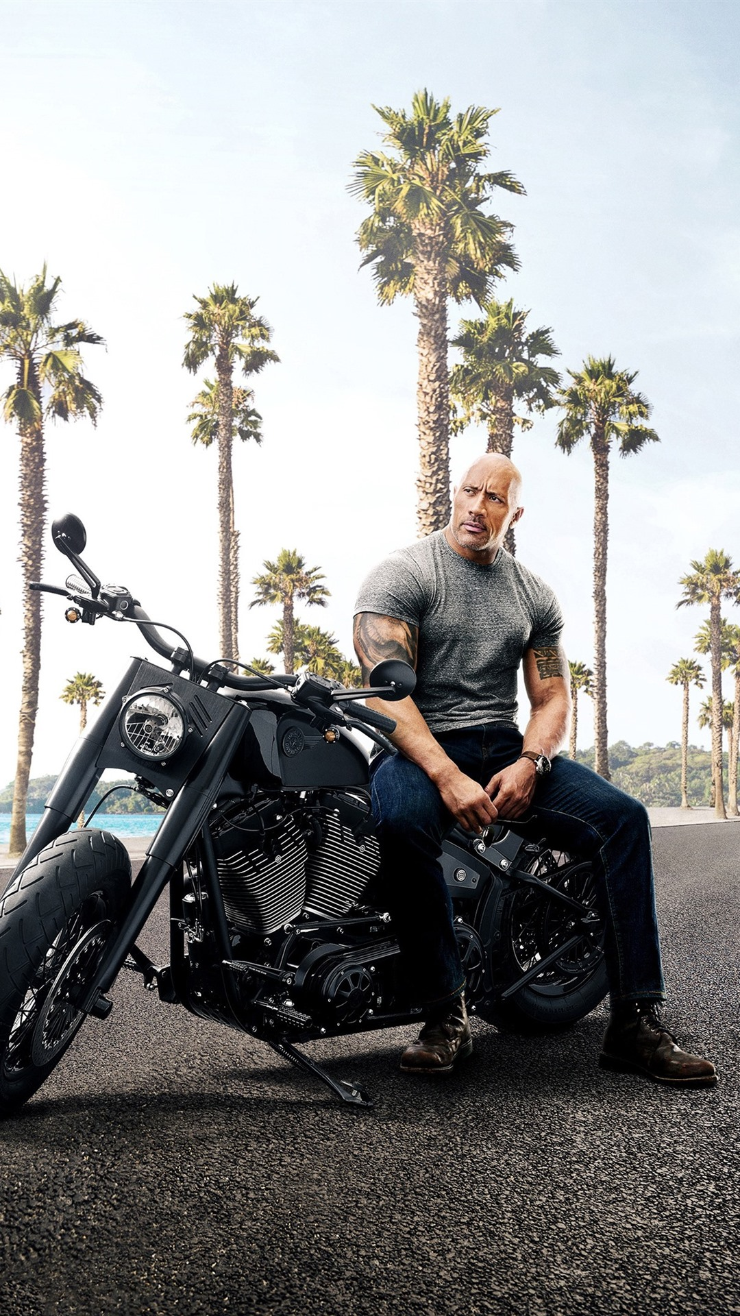 Free Download Dwayne Johnson Jason Statham Fast And Furious 8