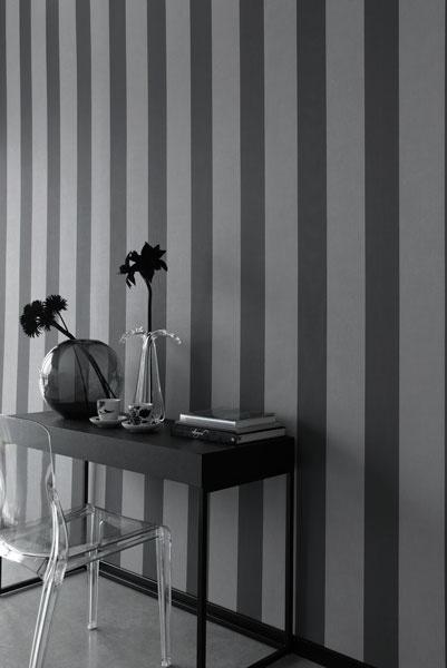Black and grey stripes wallpaper Wallpaper Wonder Pinterest 401x600
