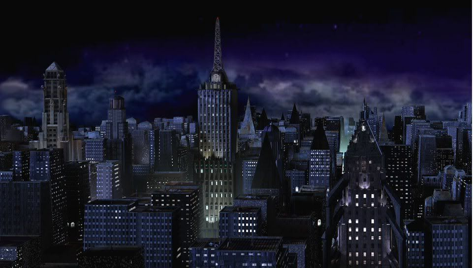gotham city skyline   Google Search Gotham city Gotham city 961x544