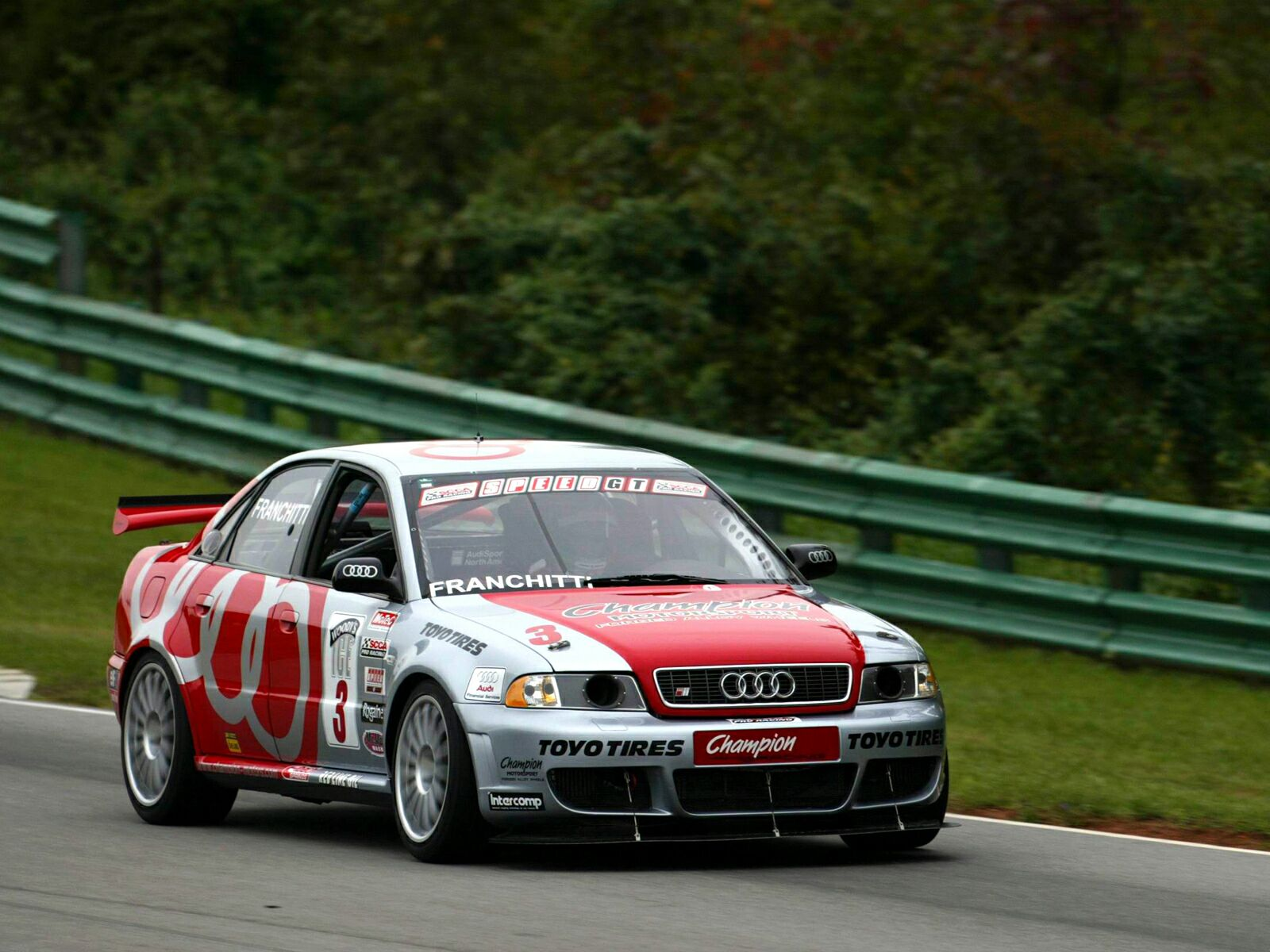 Audi S4 Competition SCCA World Challenge wallpaper 4 1600x1200