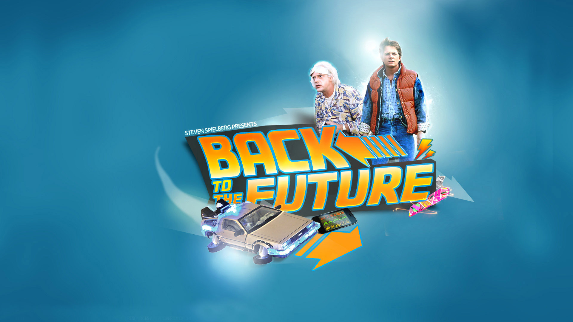 Back to the Future wallpaper 33918 1920x1080