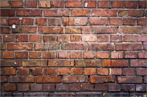 Stock Illustration Brick Wall Background 500x332
