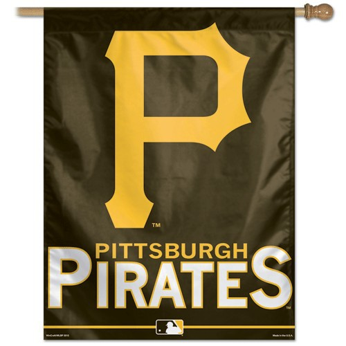 Pittsburgh Pirates Banner Pittsburgh Pirates Vertical Banner 500x500