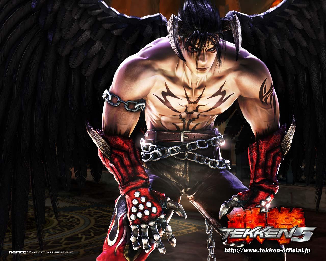 Free Download Jin Tekken 5 Dark Resurrection Wallpaper Devil Jin
