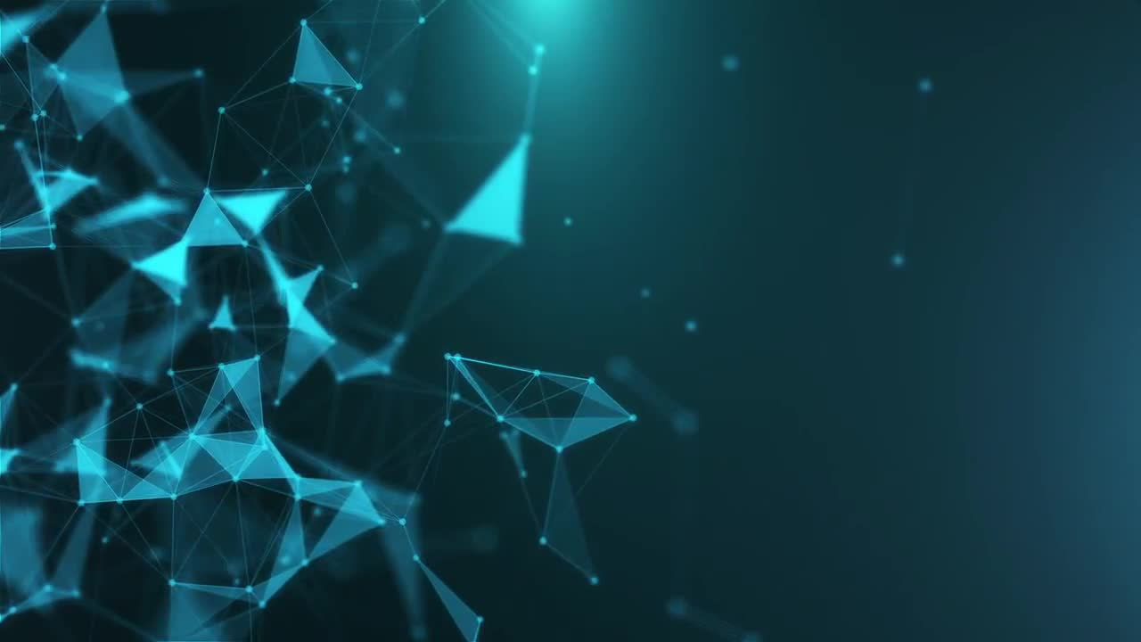 download Blue Plexus Templates Animated Backgrounds Stock 1280x720