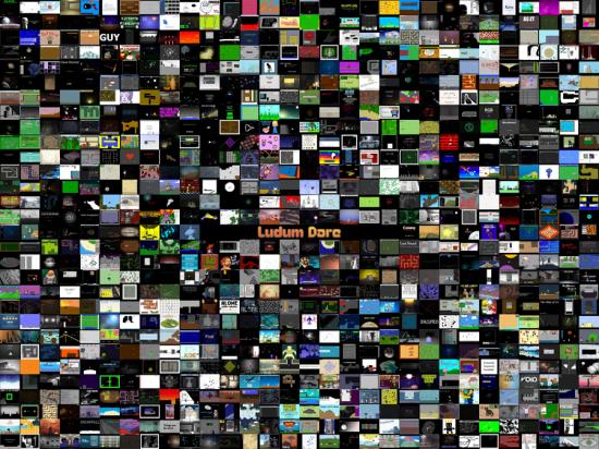Wallpaper of all 890 Ludum Dare games Ludum Dare 550x412