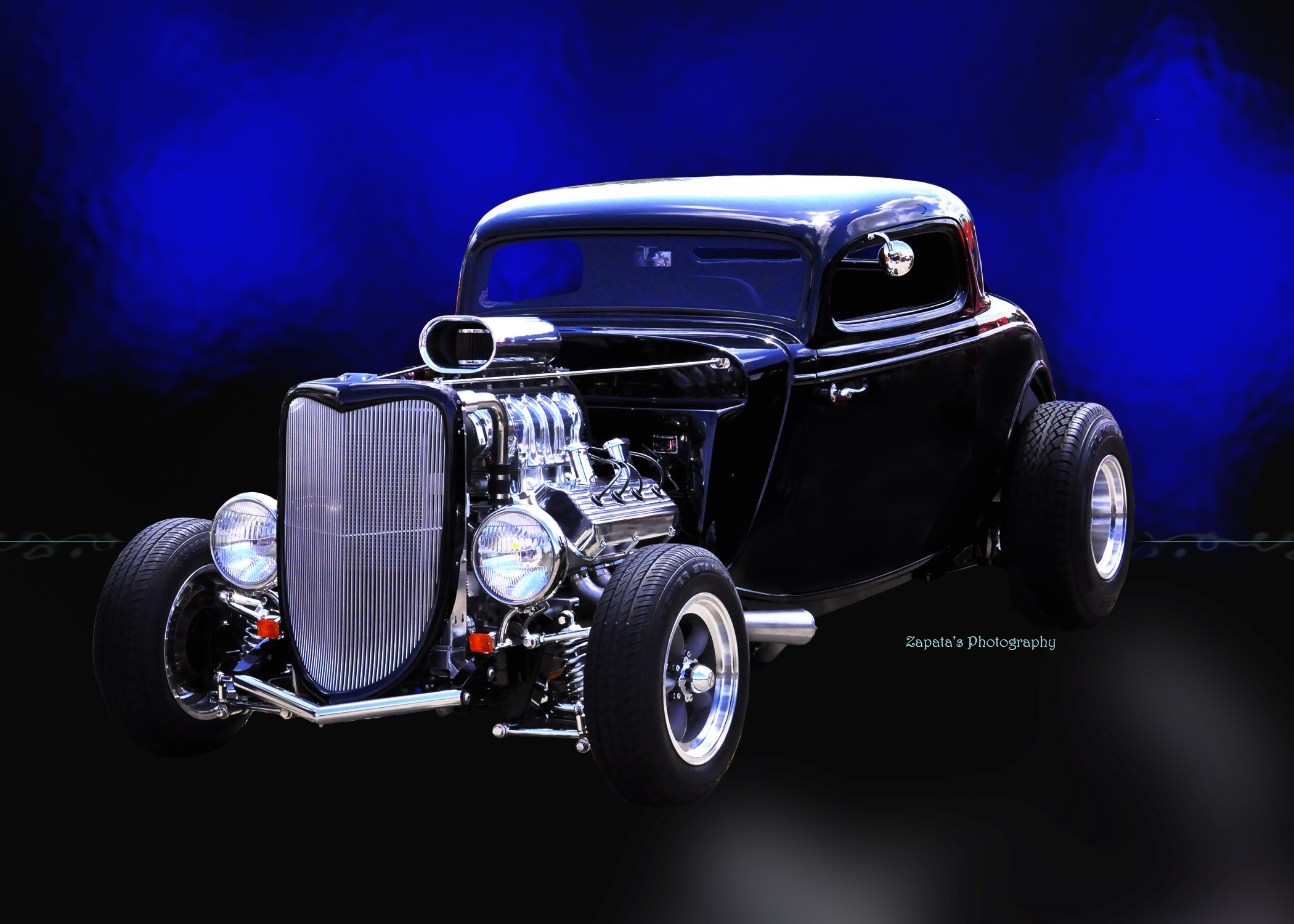 Wallpaper HOT ROD FORD 2Door Car Ford Hotrod Cars Machines 2100x1500