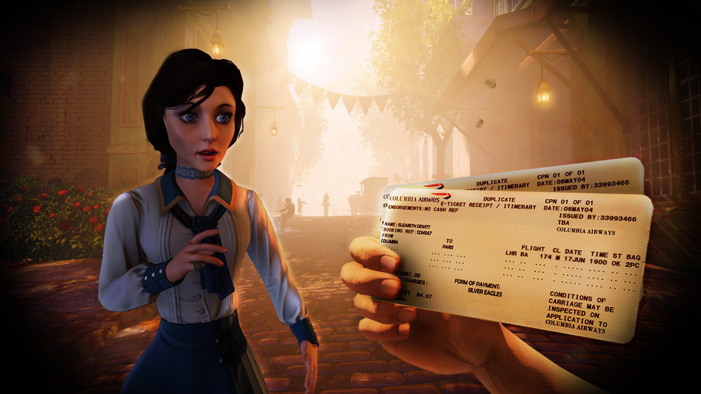 Download Elizabeth BioShock Infinite Wallpaper 1365x768