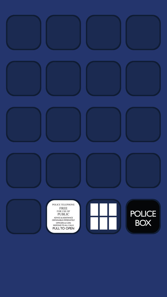 Iphone 5 Wallpaper 2   Tardis Doctor Who Desktop and mobile 671x1191