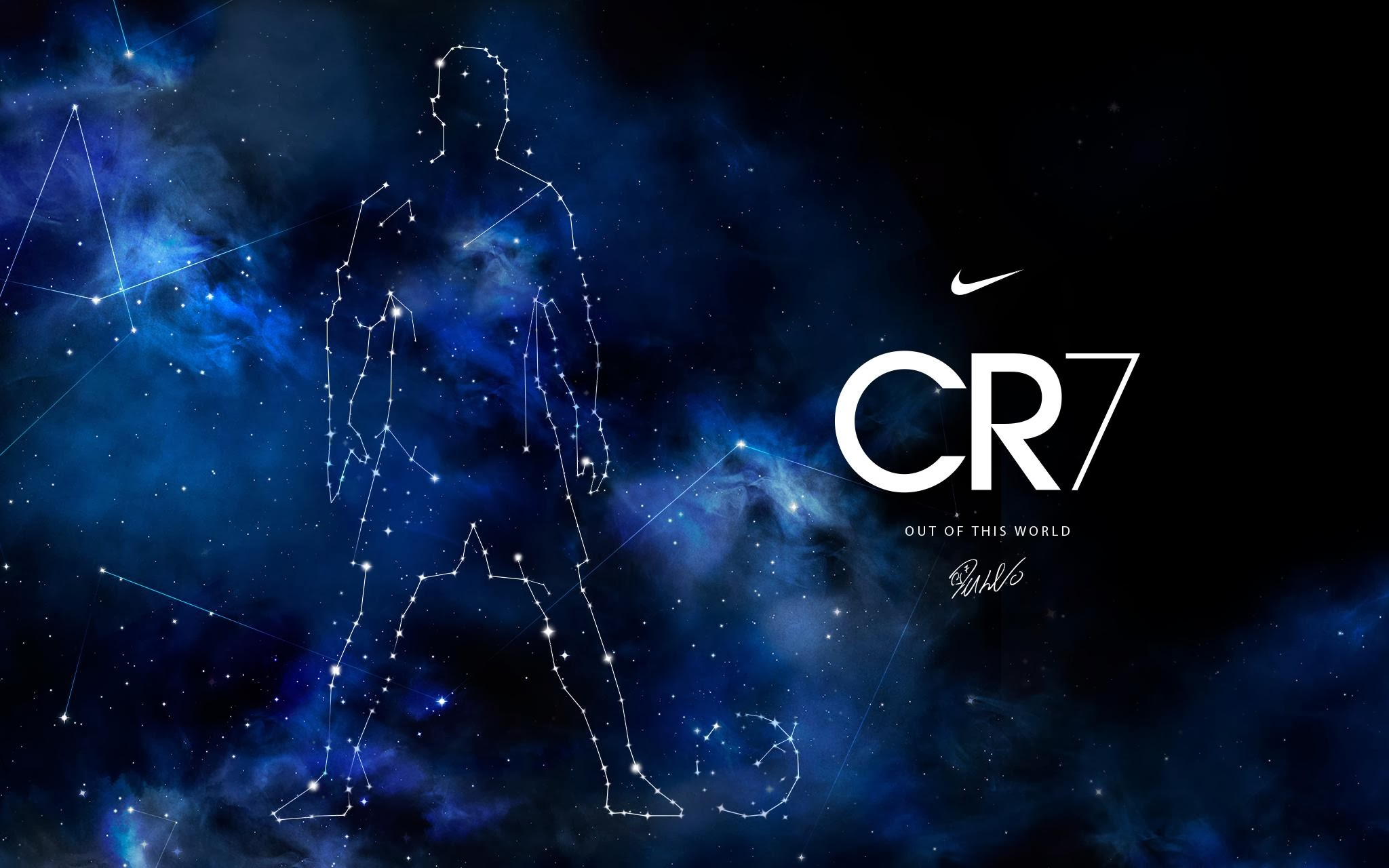 CR7 Out Of This World Wallpaper 2048x1280