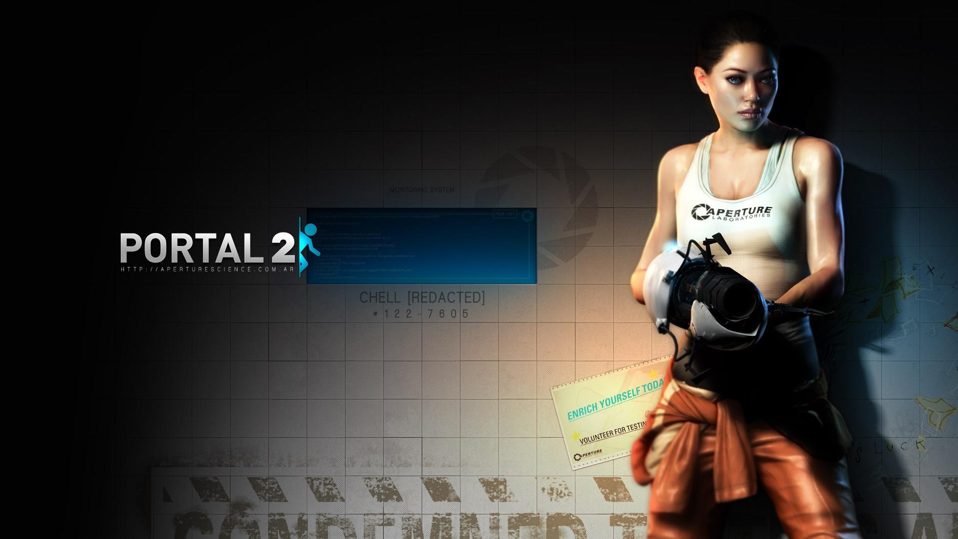 Portal 2 Desktop Wallpapers FREE on Latorocom 1920x1080